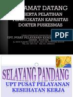 Kunjungan Pelatihan Pak Dokter Puskesmas (Bkkm Bogor)