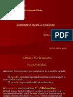 Curs 7 - Piemonturile, Glacisurile Din Romania