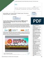 Mudra Bank Loan Yojana (PMMY)
