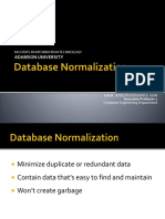 Lesson03 Database Normalization