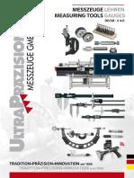 Ultra Praezision - Katalog 2018-2019 D, EN