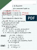 49) Sistemas de Ecuaciones
