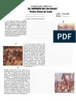 Pedro Cieza de Leon Fragmentos PDF