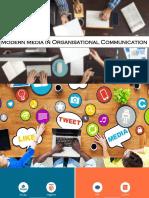 Modern Media in Organisational Commmunication