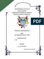 Proyecto Mineria en El Peru Final