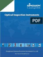 Sinowon - Katalog Projektory Pomiarowe - 2015 EN