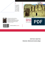 LÓPEZ SACO, J., Itinerarios. Historias del Mundo Antiguo, Edic. OmniScriptum GmbH & Co, Saarbrücken, 2016