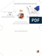 XIAOMI Mi Quadcopter Ita User Manual