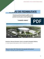 Studiul de Fezabilitate Chisinau Arena