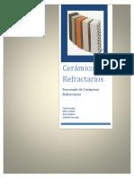 Trabajo de Ceramicos Refractarios
