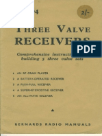 Three Valve Receivers
