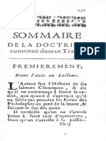 Crassellame Lux Obnubilata Ed. Francese 1692 Riassunto Del Commento