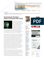 Electromagnetic Simulation Applied to Automotive EMC Testing _ in Compliance Magazine