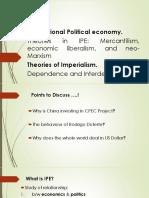 Lecture IPE