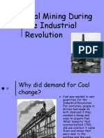 coal mining during the industrial revolution