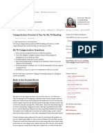 Categorisation Practice & Tips for IELTS Reading