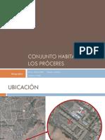 Expo Conjunto Habitacional Los Proceres