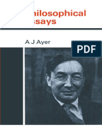 A. J. Ayer (Auth.) - Philosophical Essays (1972, Palgrave Macmillan UK)-1