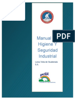 Manual de Higiene Y Seguridad Industrial
