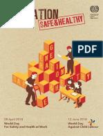 2018_World OSH Day Generation Safe & Healthy