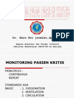 Monitoring Pasien Kritis