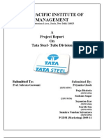 QMM Report Tata Steel