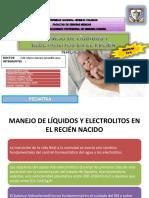 8. Balance Hidroelectrolítico en El RN (Seminario - Dr. Jaramillo)