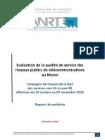 Rapport Publication Qos Voix - Vf-2016