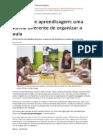 Circuito de Aprendizagem Uma Forma Diferente de Organizar a Aula
