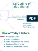 Digital Coding of Analog Signal Ut2