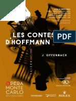108-DP - Les Contes d'Hoffmann - Jacques Offenbach - Opéra de Monte-Carlo 2017-2018