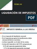 17.- Liquidacion de Imptos