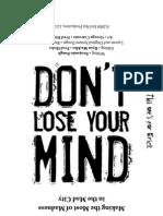 Don't Lose Your Mind (Print) [Evil Hat]
