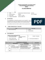 Syllabus Pfrh Bimestre II 2do Material
