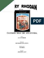 P-070 - Últimos Dias de Atlântida - K. H. Scheer