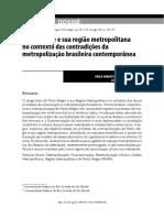 Artigo Sociologias - Soares & Fedozzi