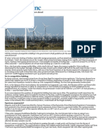 Wind Energy - Signs of Turbulence Ahead