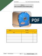 Tp 5 Etude Reducteur Pendulaire