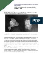 Família Viveu Isolada Na Sibéria