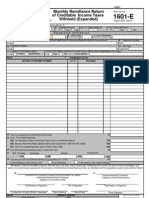 BIR Form 1604E | Withholding Tax | Taxes