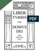 Liber Turris vel Domus Dei