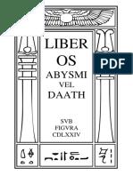 Liber Os Abysmi vel Daath