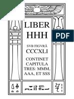 Liber HHH