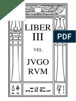 Liber III vel Jugorum