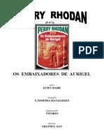 P-072 - Os Embaixadores de Aurigel - Kurt Mahr