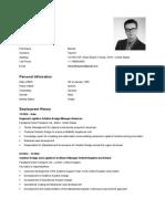 Curriculum Vitae Bennet Saumer 201804