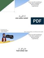 Superlatives Moroccan 2