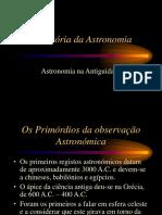 PPT 7 CFQ História Da Astronomia