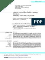 Nardacchionne y Tovillas Bourdieu y Boltanski