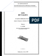Revision du genre Duvalius (France), Christophe Avon 1997